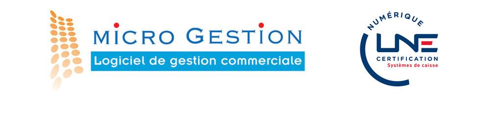 Micro Gestion logiciel de gestion commerciale et encaissement certifié pour 2018