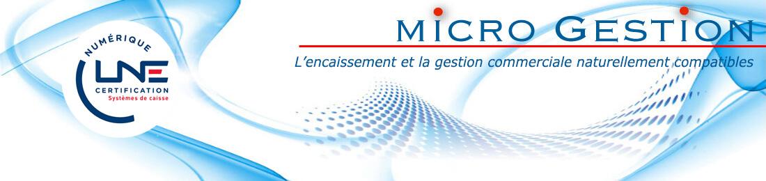 Micro Gestion logiciel de gestion commerciale et encaissement
