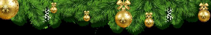 Image boule de Noel en-tête