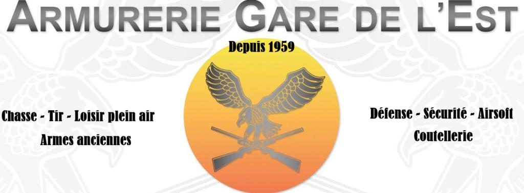 logo armurerie de la gare de l'est - armuriers